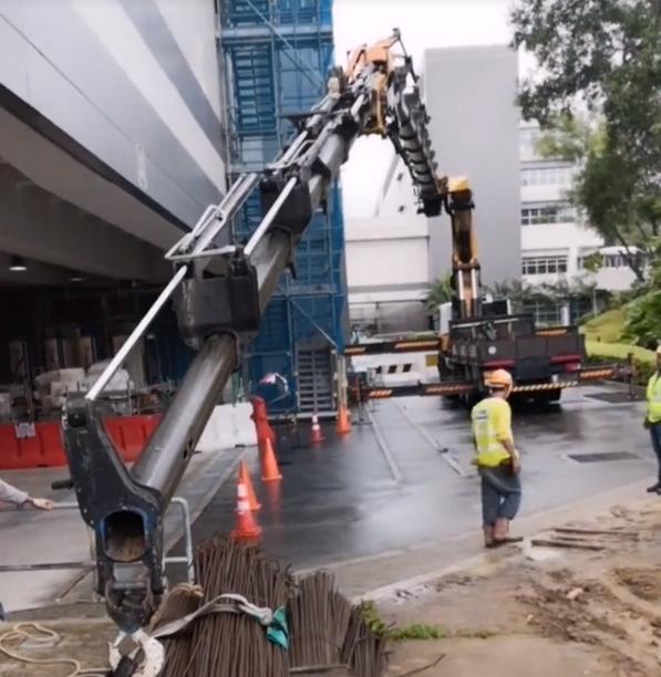 泵车还是吊车?两者杂交了?工程机械黑科技